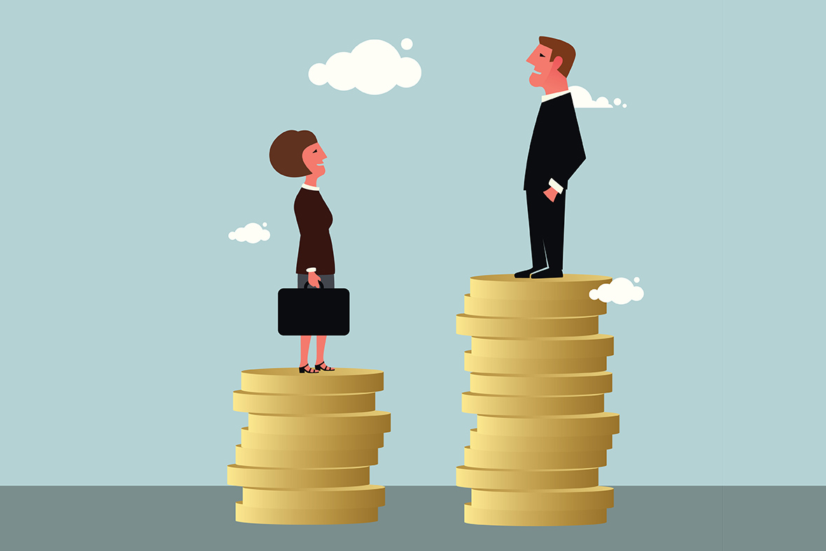 gender pay gap  nice women are paid less than they deserve