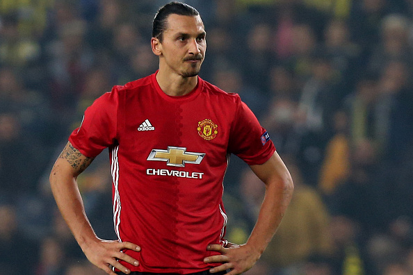 Zlatan Ibrahimovic will miss Manchester United vs Arsenal clash after