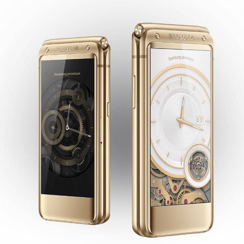Samsung reveals new high-end Android flip phone ...