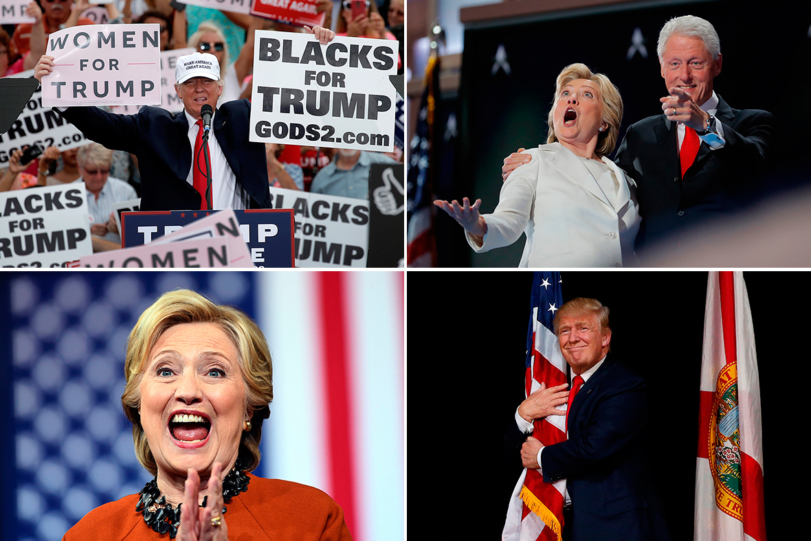 US election 2016: Best photos from Hillary Clinton and ...