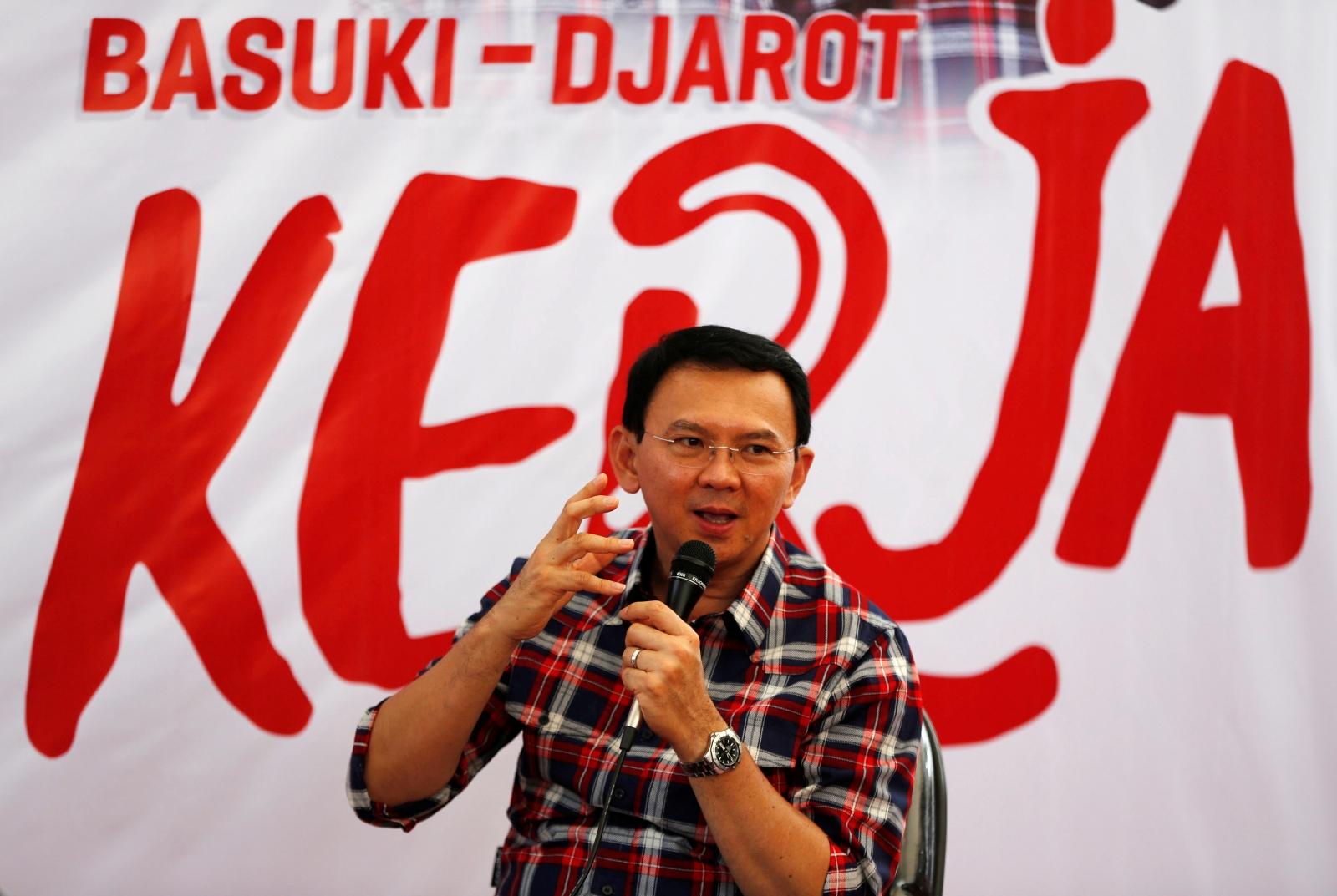 Indonesia jakartas chinese governor basuki ahok purnama sobs indonesia jakartas chinese governor basuki ahok purnama sobs as blasphemy trial begins stopboris Choice Image