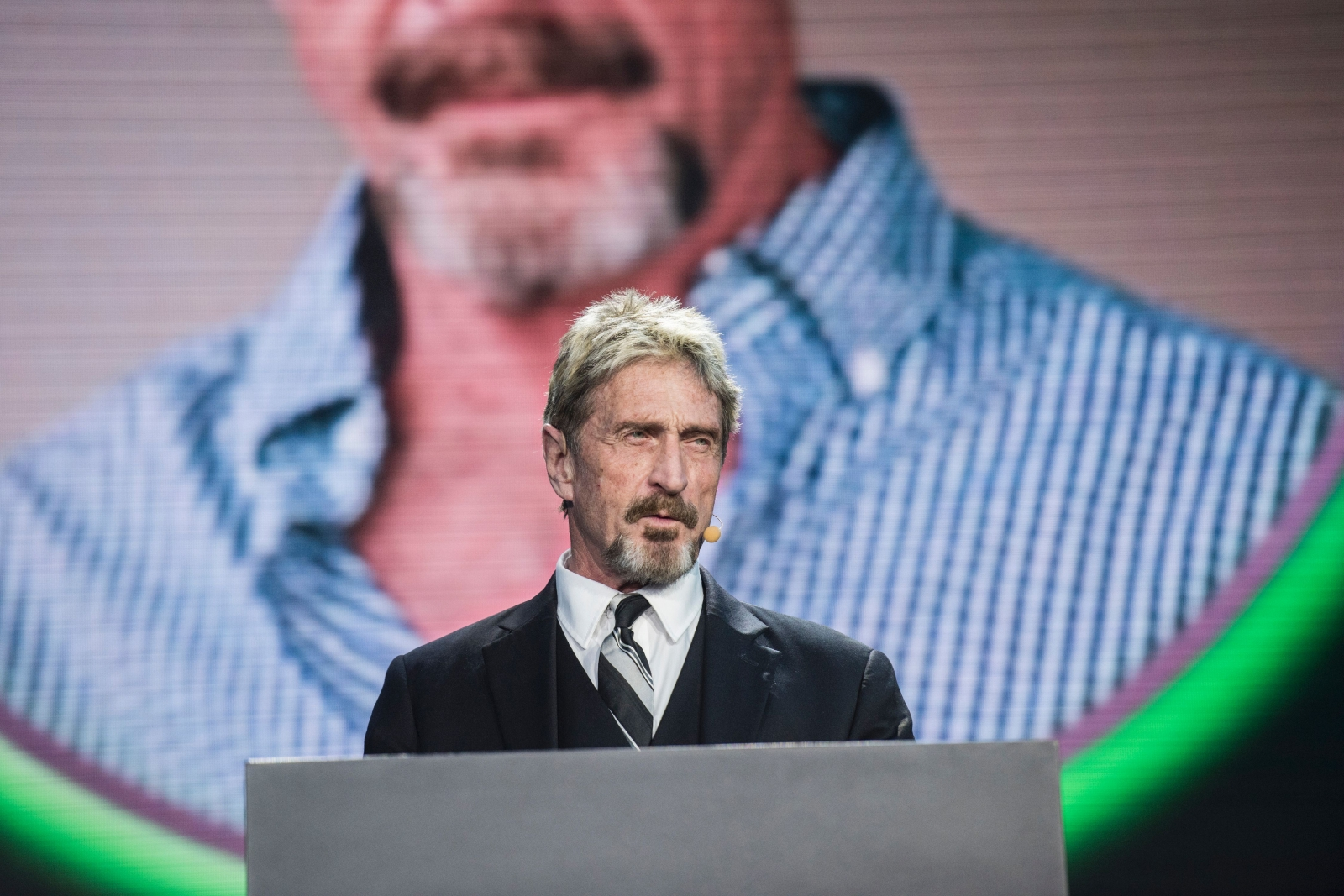 Anonymous Website Wants John Mcafee To Be Donald Trump S