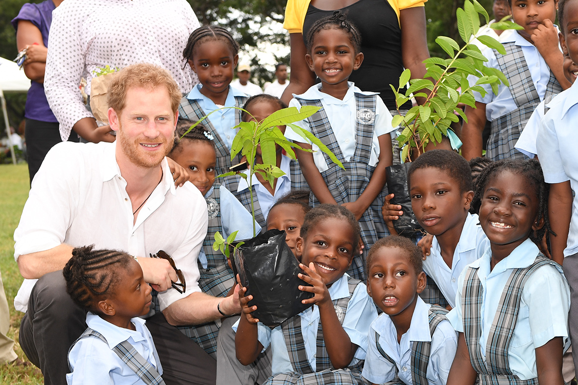 Prince Harry 39 S Caribbean Tour Marks Anniversaries Of Independence In Barbados Guyana Antigua