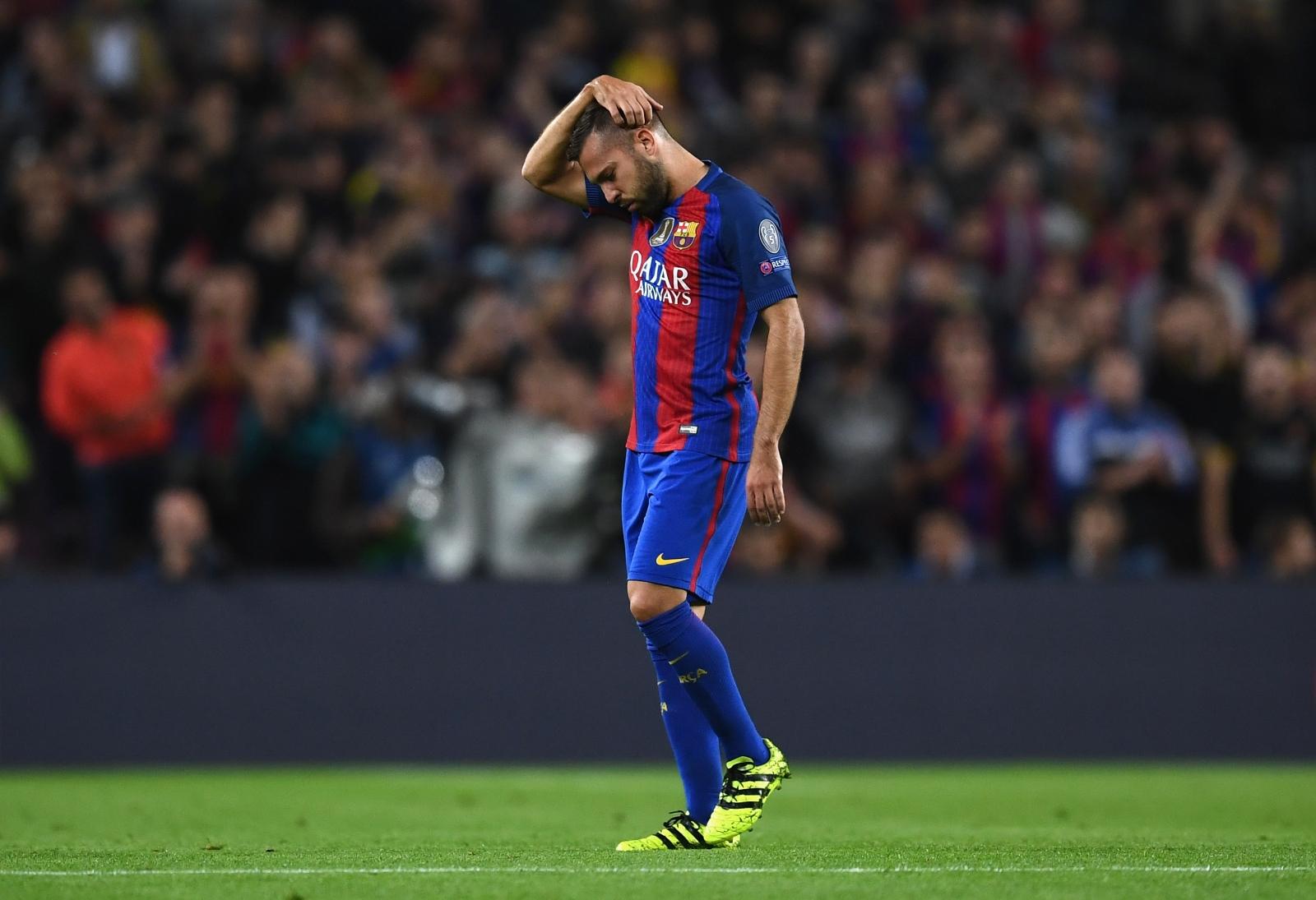 Barcelona star Jordi Alba rues lack of playing time in 3 4 3