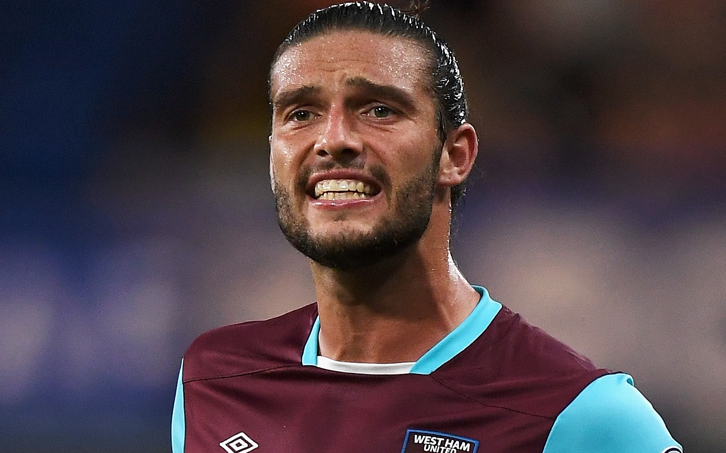 Andy Carroll drove wrong way down road and hit 10 cars fleeing