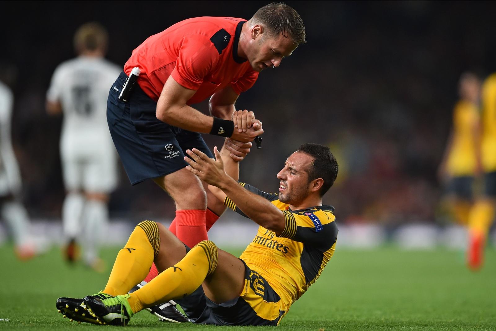 Santi Cazorla Arsenal star advised to undergo surgery to correct