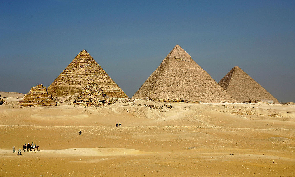 Ancient Egypt: Archaeologists think they've found a secret chamber in the Great Pyramid of Giza