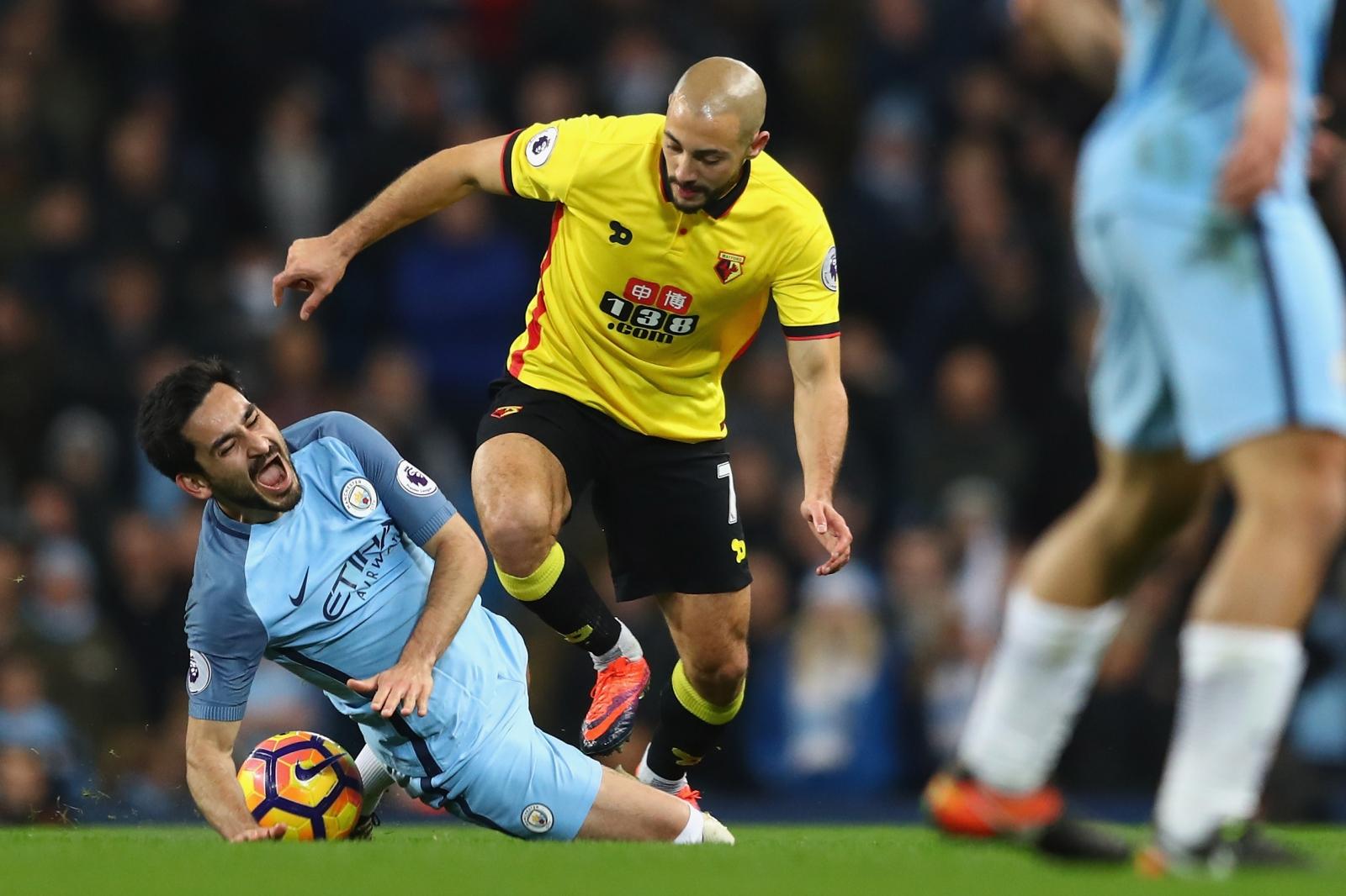 Ilkay Gundogan Manchester City confirm midfielder suffered