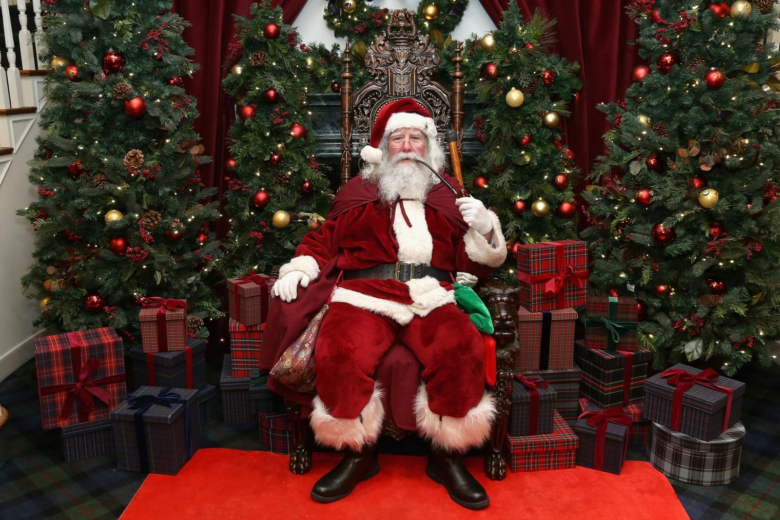 Celebrity santas picture quizzes uk