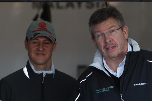 Michael Schumacher played key role in Mercedes' three-year dominance, says Ross Brawn