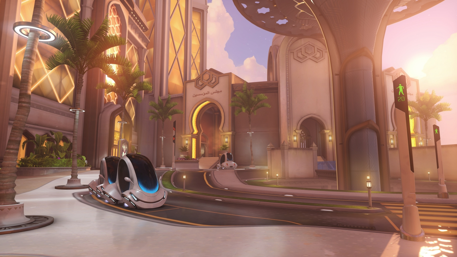 Blizzard Release New Overwatch Map Oasis - Nyc map oasis