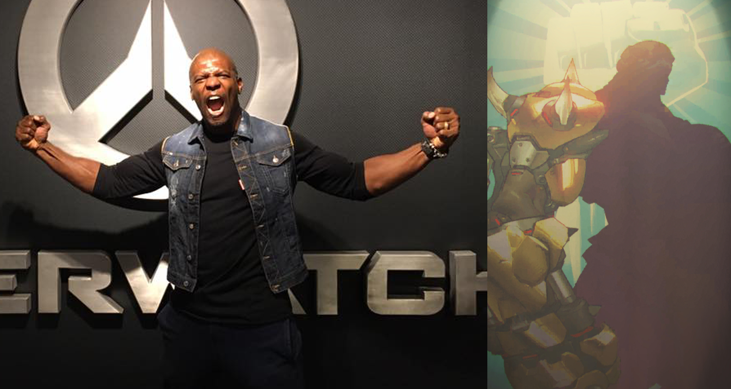 Terry Crews pushing to voice Doomfist