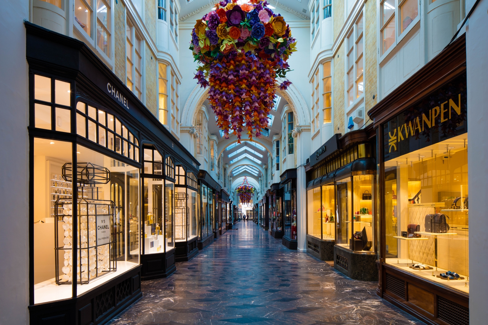 Burlington Arcade in London goes up for sale