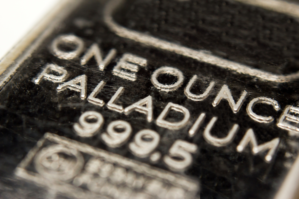 Image result for palladium metal