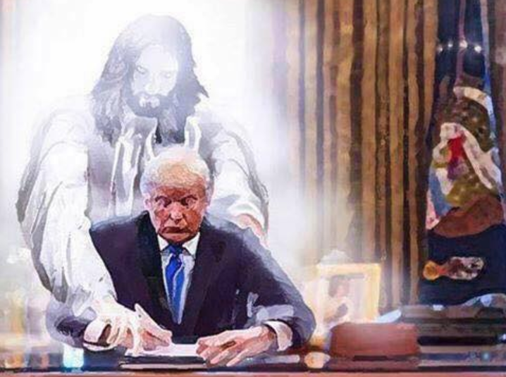 Does Jesus love Donald Trump? Bizarre vision goes viral
