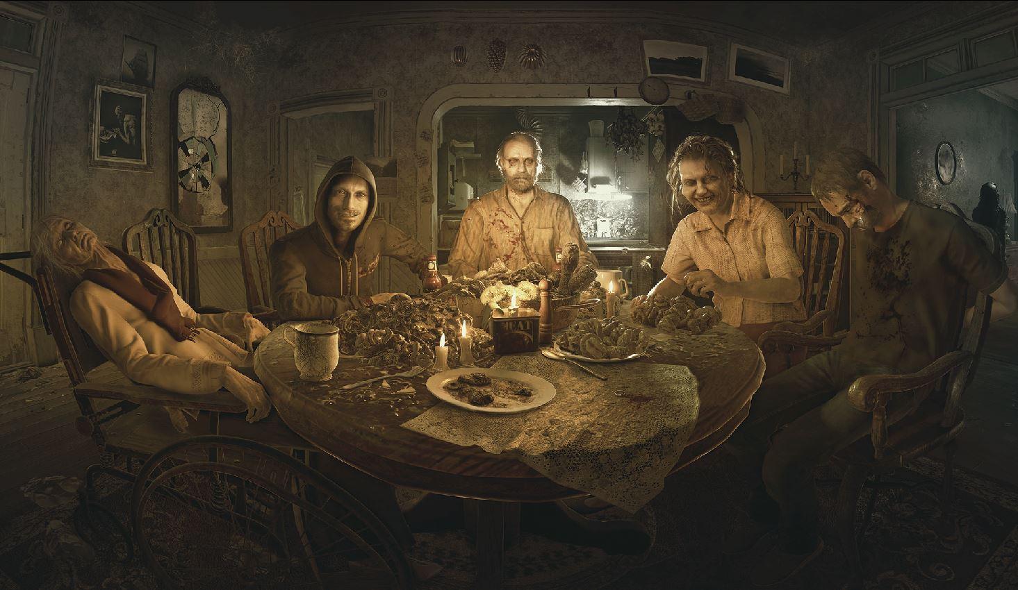 resident evil 7 how the baker family reflect the world in 2017