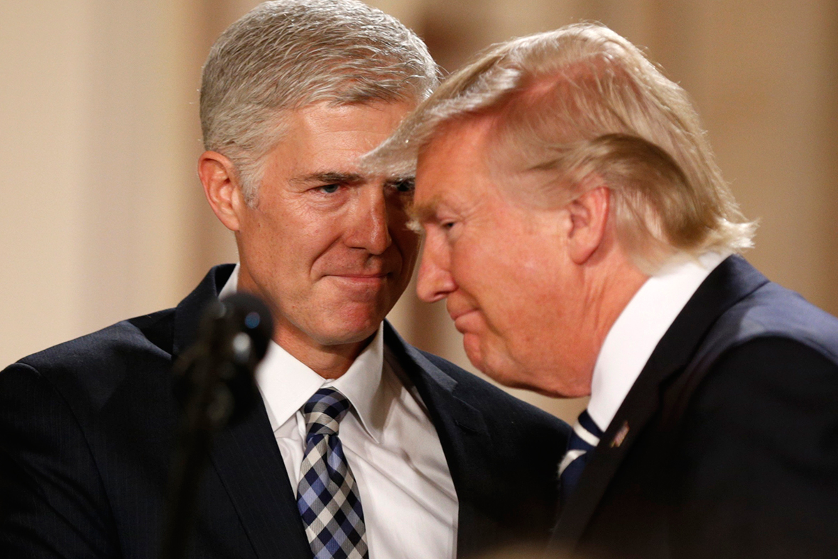 Neil Gorsuch is just the start - Republicans are about to conquer the ...