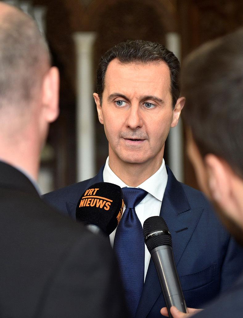 Bashar Al Assad Rex Tillerson