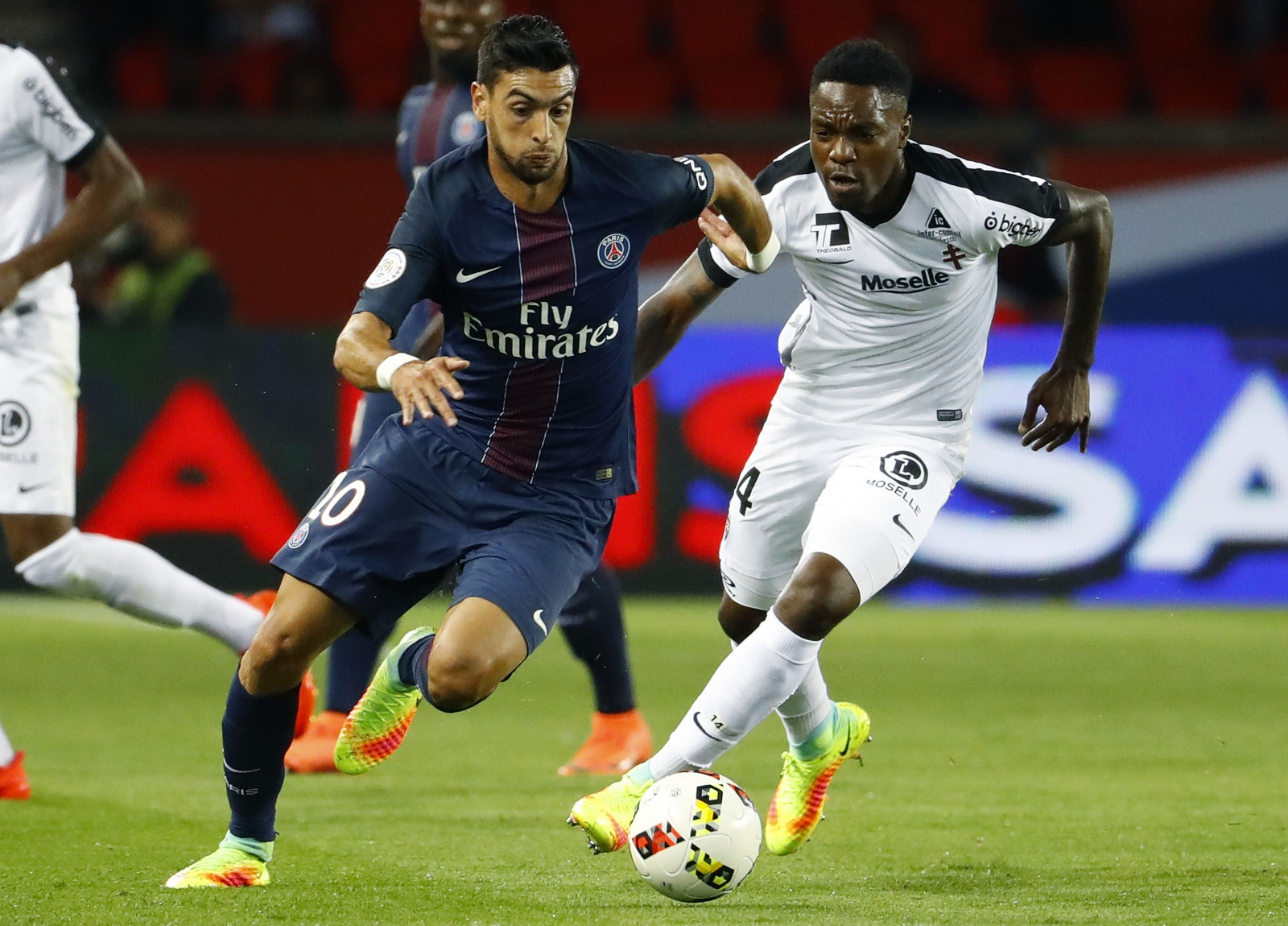 Javier Pastore only doubt for PSG vs Barcelona as Unai Emery backs