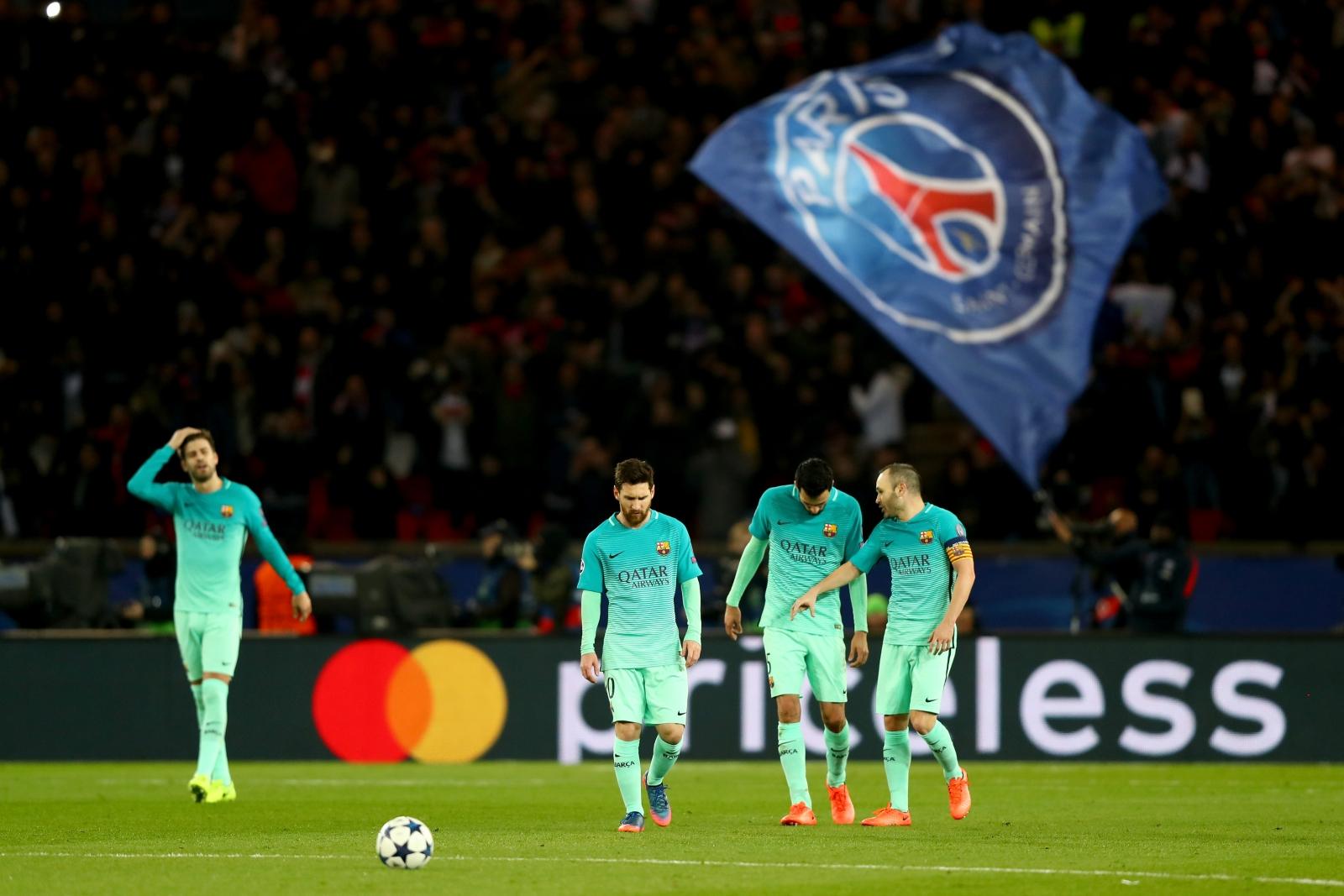 Barcelona vs paris saint germain champions league where for Tour de barcelona a paris