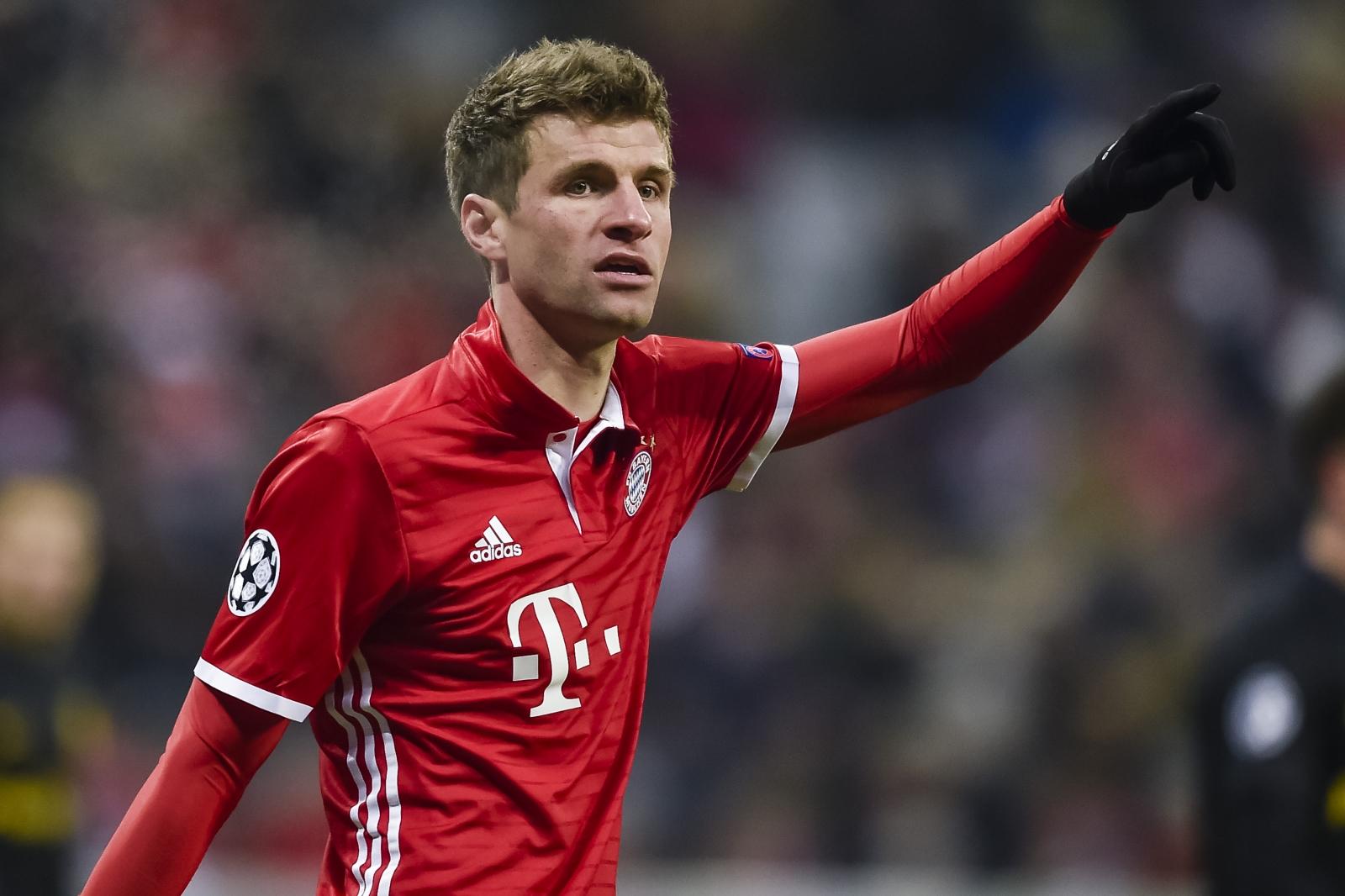 Bayern reveal Manchester United bid £85m for forward Thomas Muller