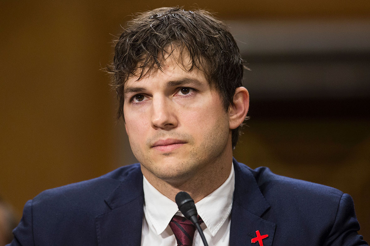 Ashton Kutcher testifies on human trafficking and calls ... Ashton Kutcher