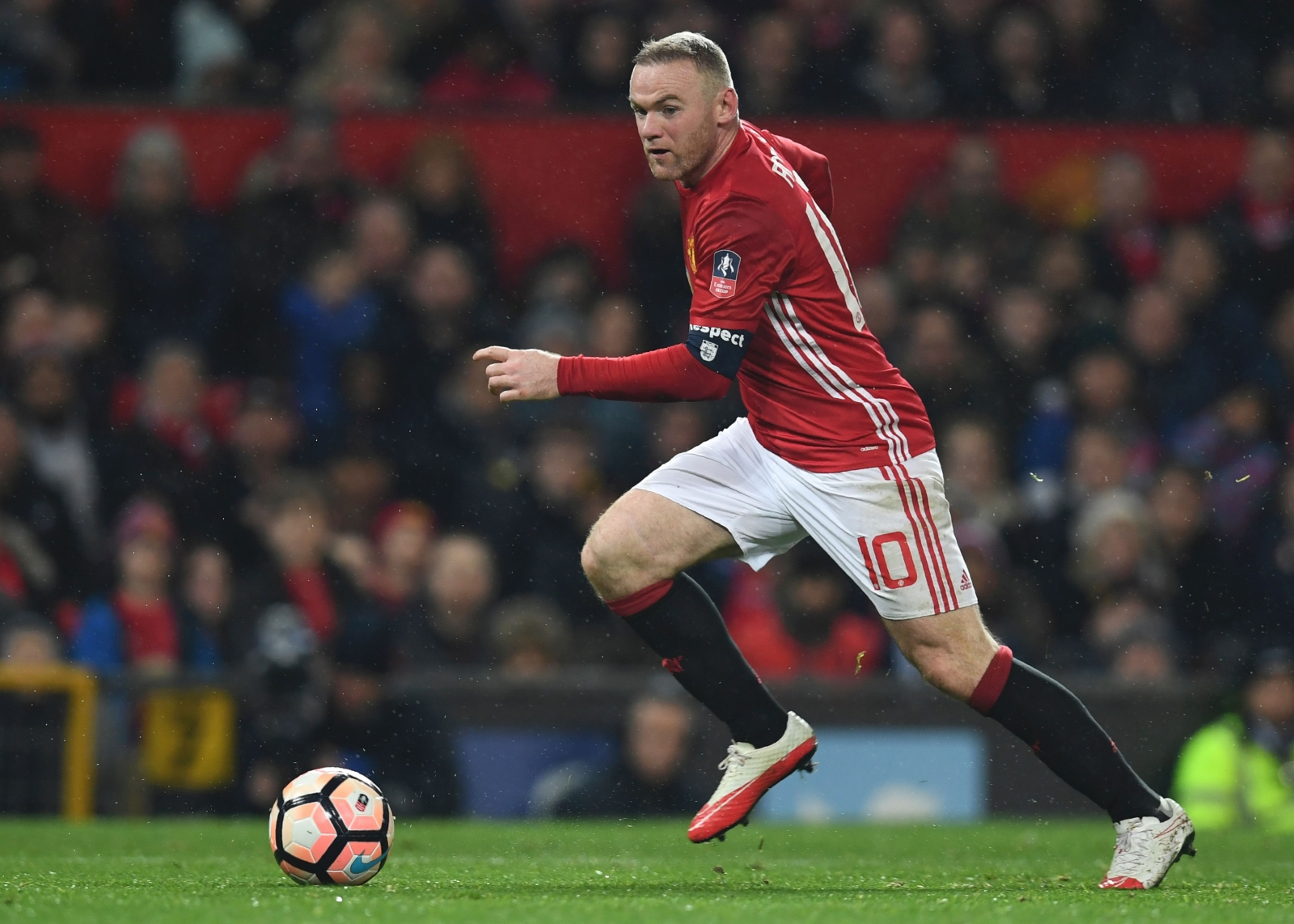 Out of favour Manchester United striker Wayne Rooney open to