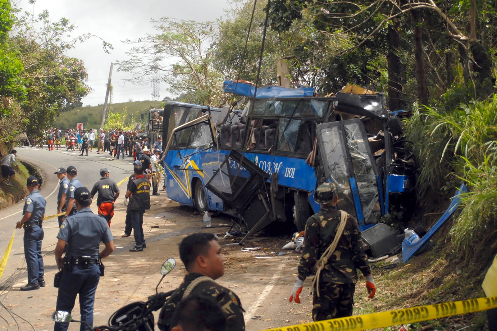 College Tour Bus Accident