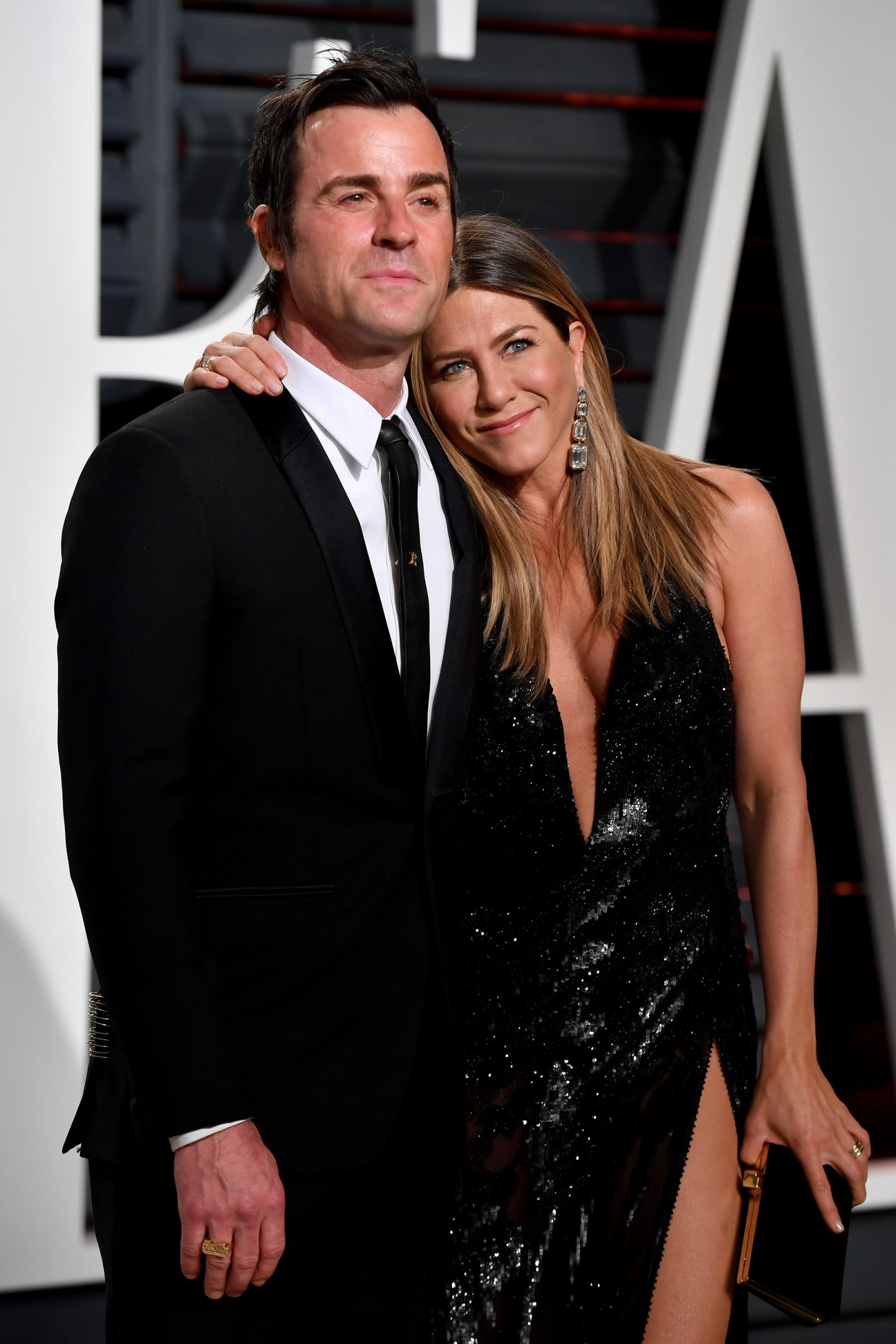 Justin Theroux thinks it would be 'fantastic' to write a TV role for Jennifer Aniston