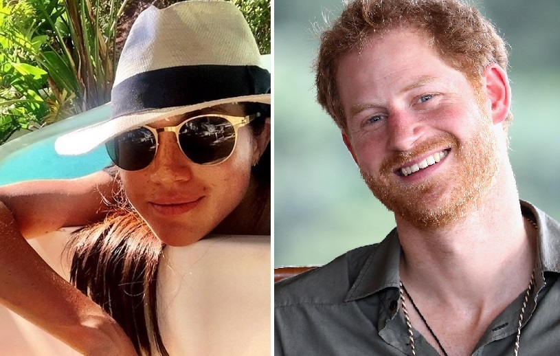 All Eyes On Prince Harry And Meghan Markle As They Attend Caribbean Wedding As An Official Couple
