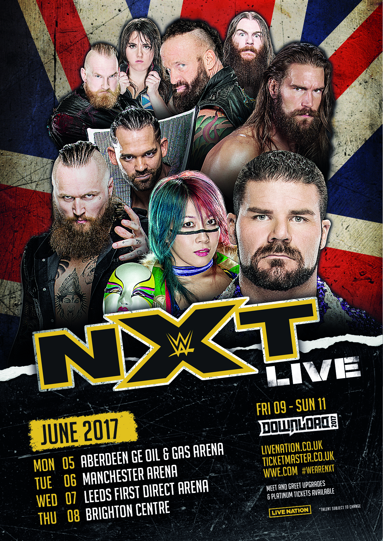 Wwe Uk Tour  Dates