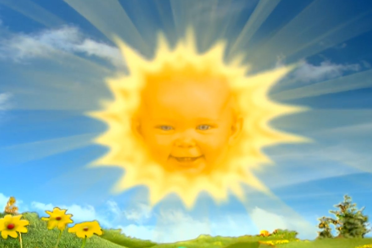 This Is What The Teletubbies Sun Baby Looks Like Now