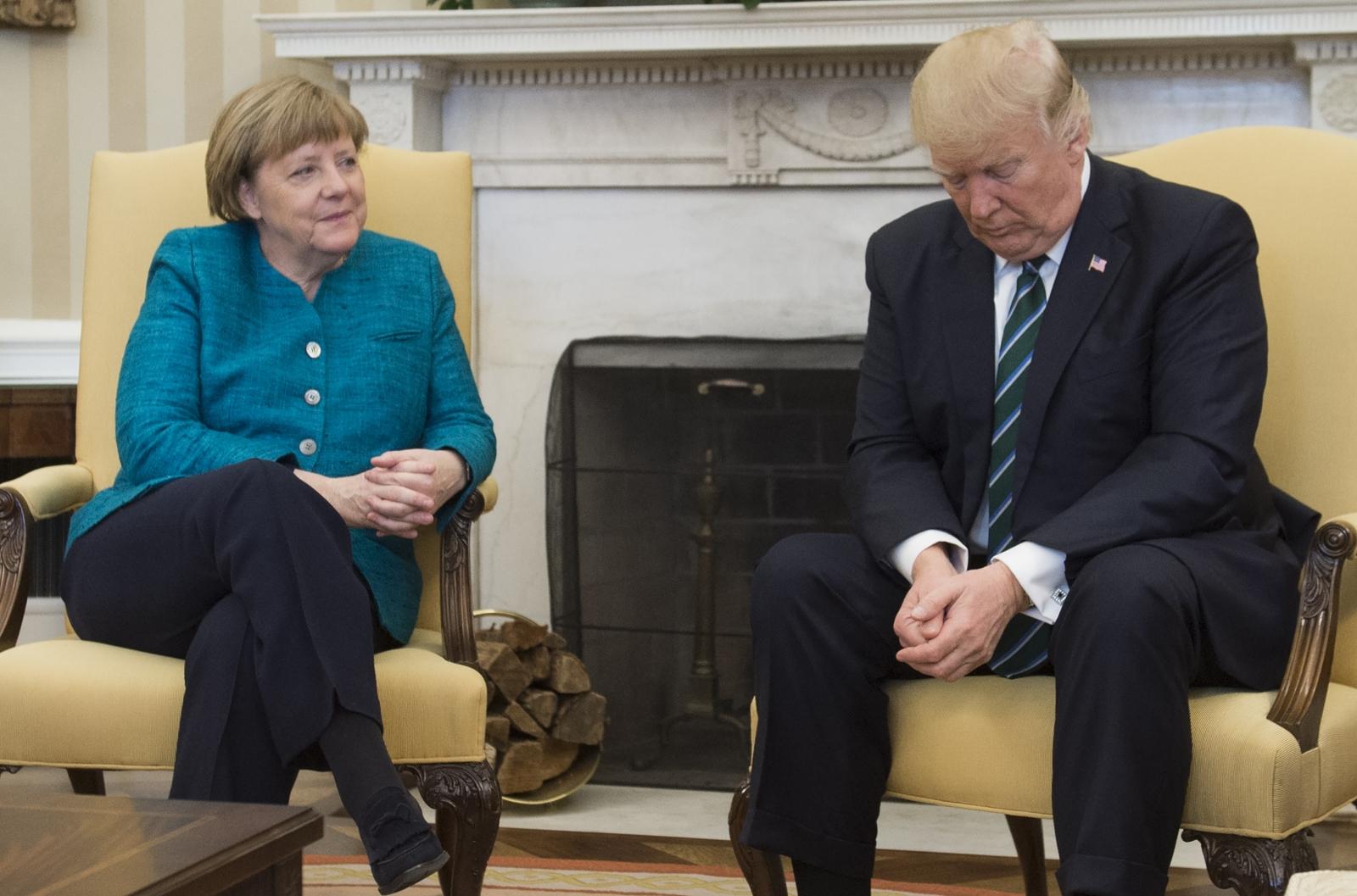 news politics articles donald trump angela merkels awkward white house summit
