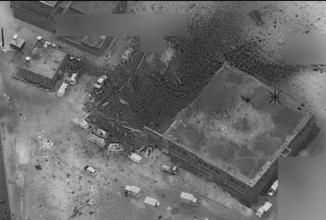 recent drone strikes with Pentagon Releases Post Strike Image Confirming Syria Mosque Strike Killed Al Qaeda Militants Not 1612317 on Fast Food Slogans Annotated besides 2013 03 01 archive also Binweevil pany wordpress additionally Star Wars Legos together with 223429 Attack Of The Drones Star Wars Episode Viii Will Deploy Hundreds Of Guards Anti Drone Warfare.