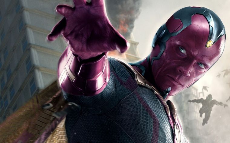 Avengers Infinity War leaked set video shows Vision under attack
