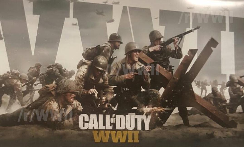Call Of Duty Ww2 Rumoured Artwork Seemingly Confirms