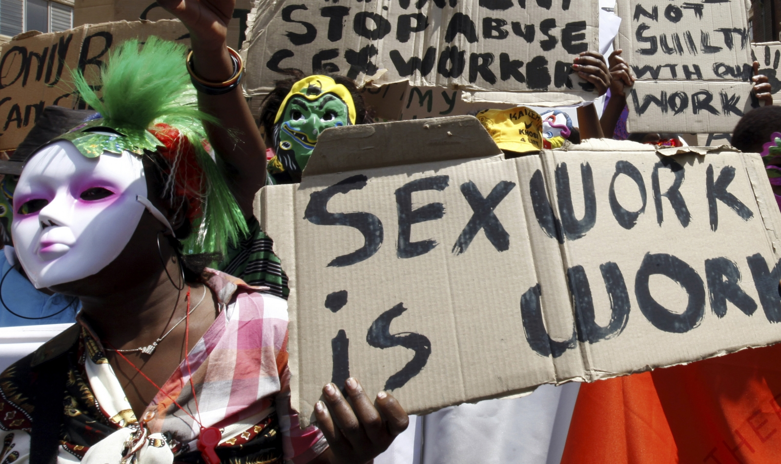 Debate Rages Over Legal Status of Sex Workers in South