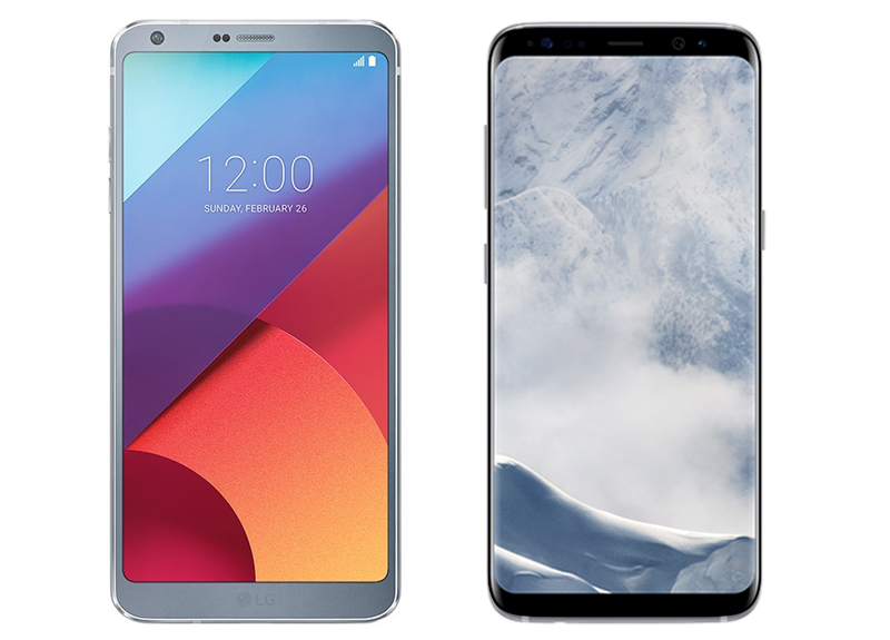 Samsung Galaxy S8 vs LG G6: What's the difference and ...