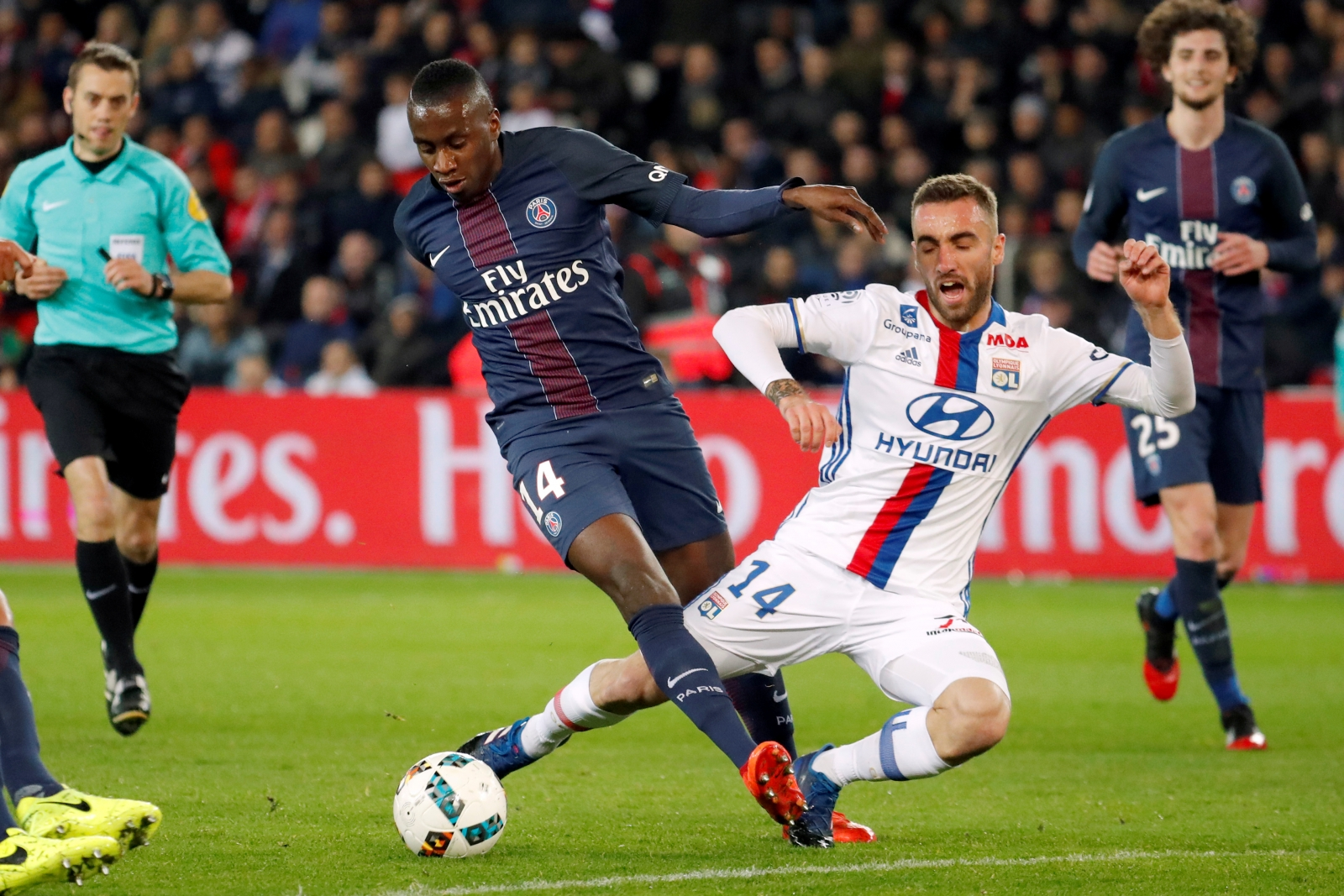 Paris Saint Germain s Blaise Matuidi listening to other clubs amid