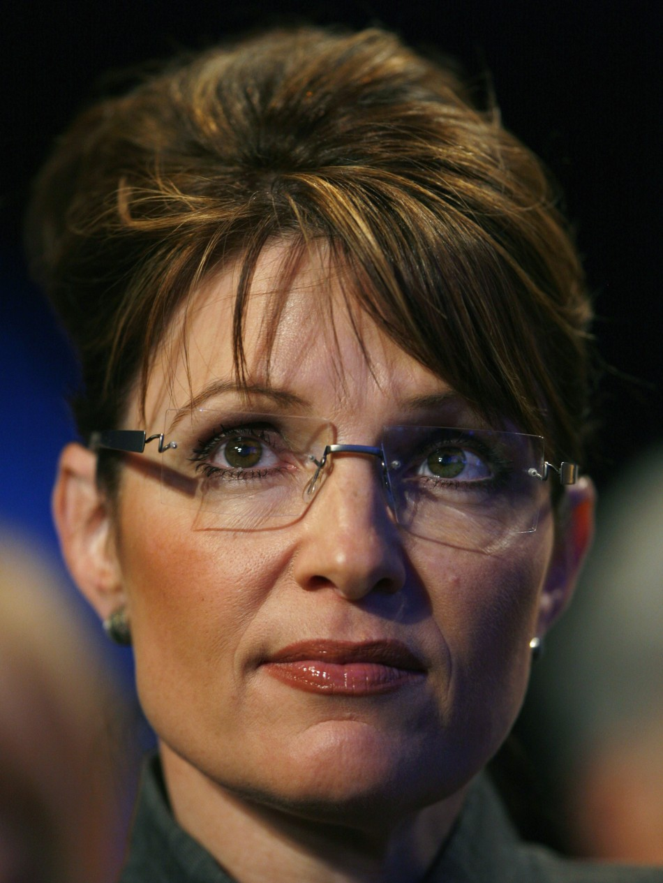 Sarah palins face cum on