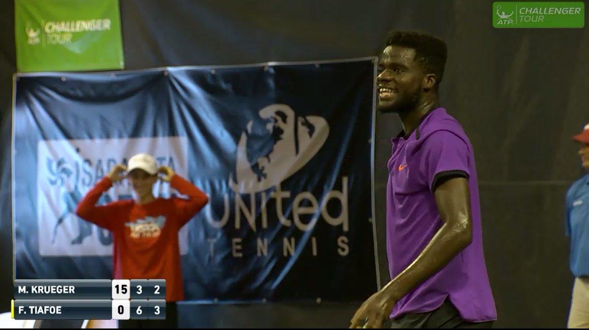 onair heard monsters interupts tennis match