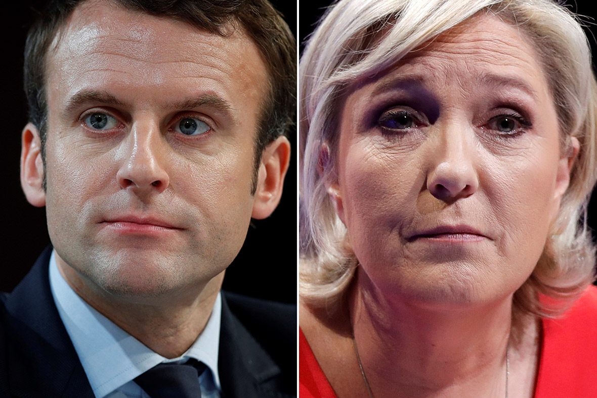 France elections 2017 live - Macron And Le Pen To Face Off In Second Round Of French Presidential Election