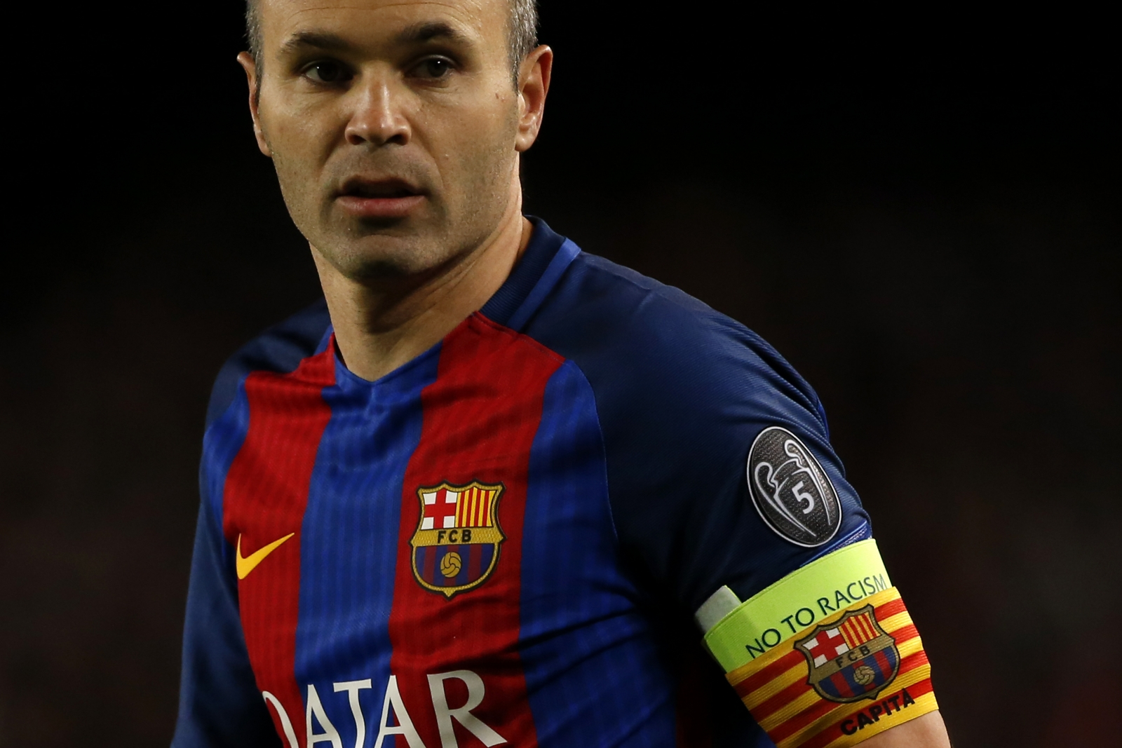 Andres Iniesta a major doubt for Barcelona derby at Espanyol but