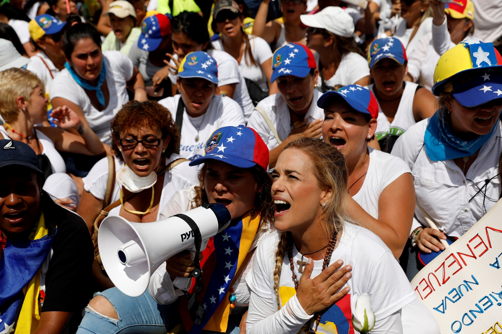 women and politics in venezuela Watch video two women visiting the venezuela's prisons sporadically sign up to receive the top stories you need to know now on politics.