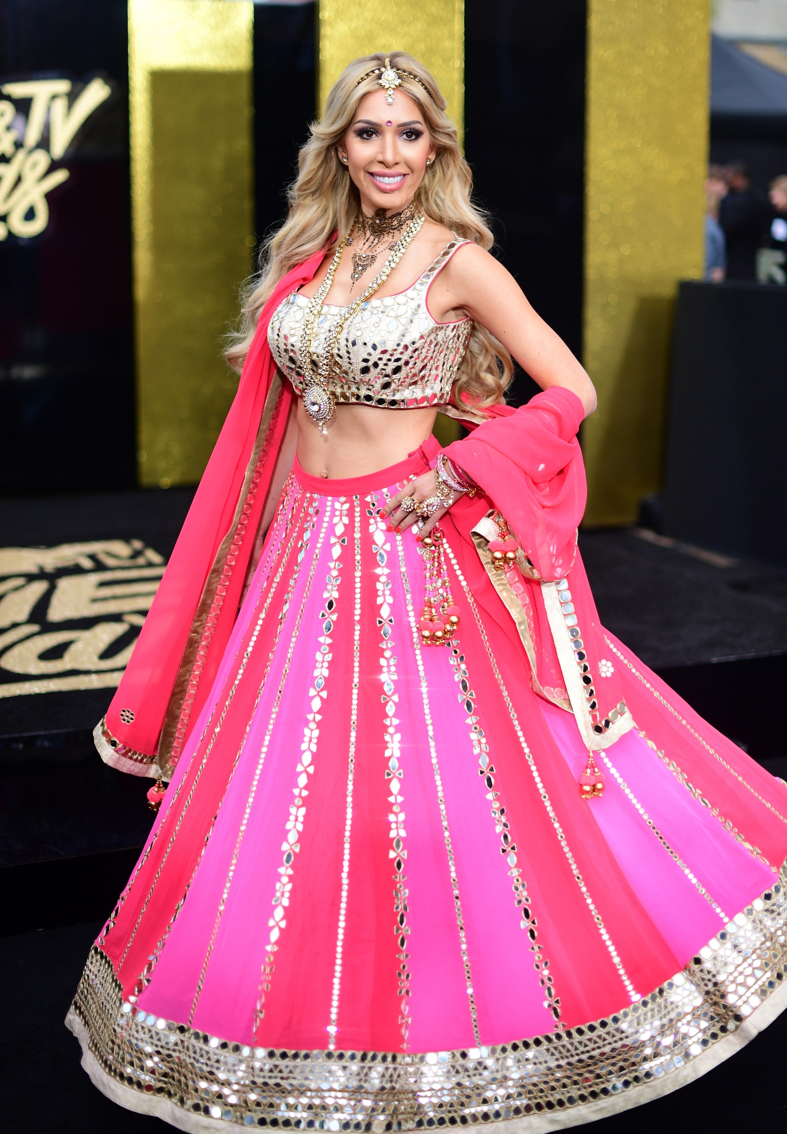 MTV Movie Awards 2017: From Farrah Abraham's controversial Bollywood look to Amber Rose's bold style
