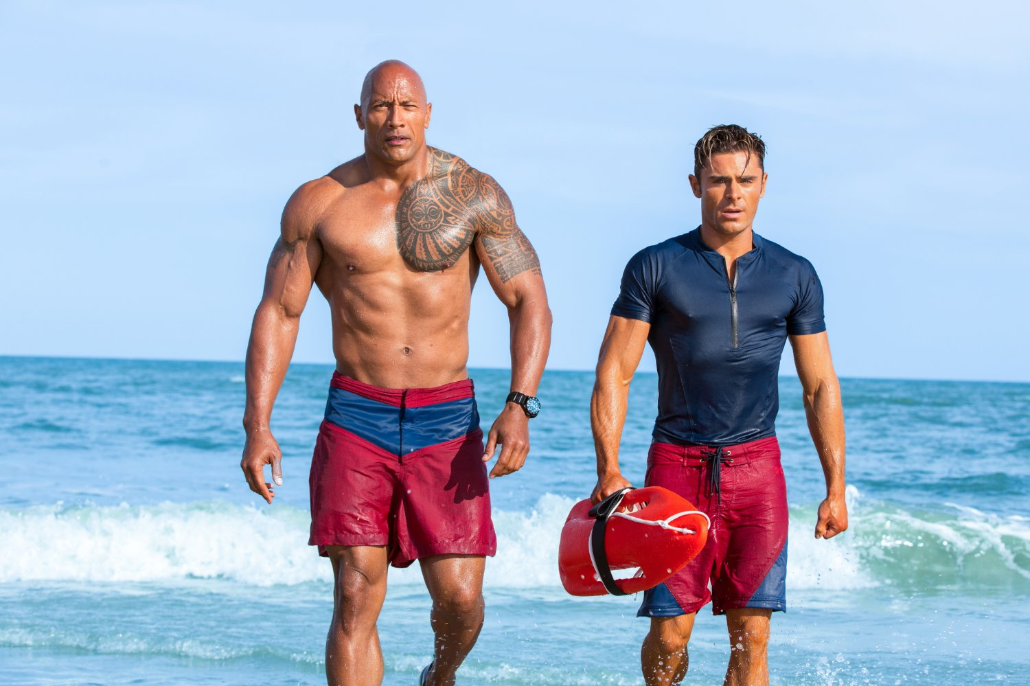 Baywatch review: Zac Efron is the funniest player in dated and occasionally awkward reboot