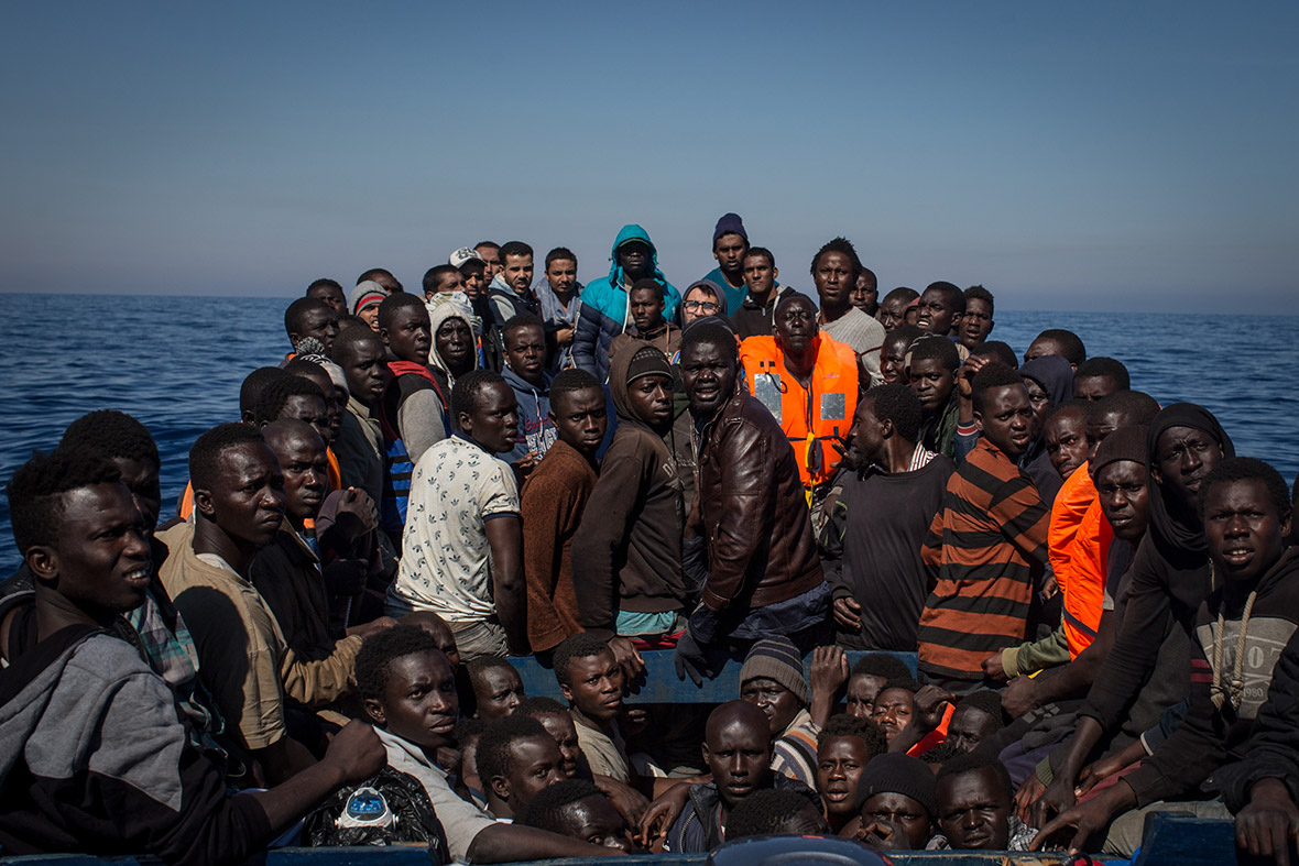 Humanitarian Rescue Boats Or Ferry Service  Mediterranean