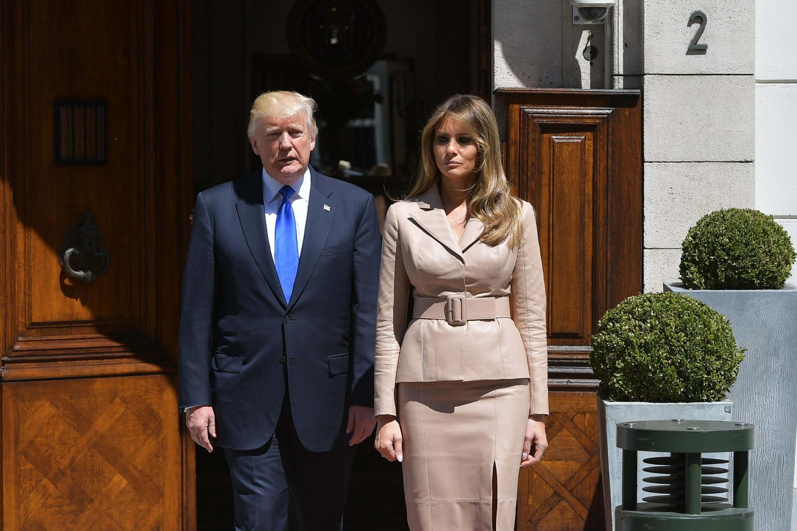 Melania Trump doubts Kathy Griffin's mental health and slams Trump ...