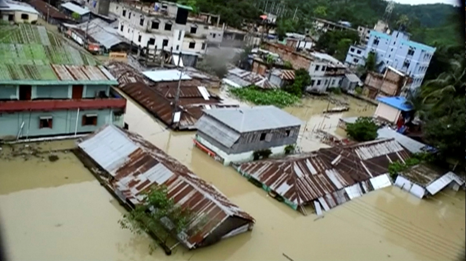 At least 156 dead as monsoon rains trigger floods and ...