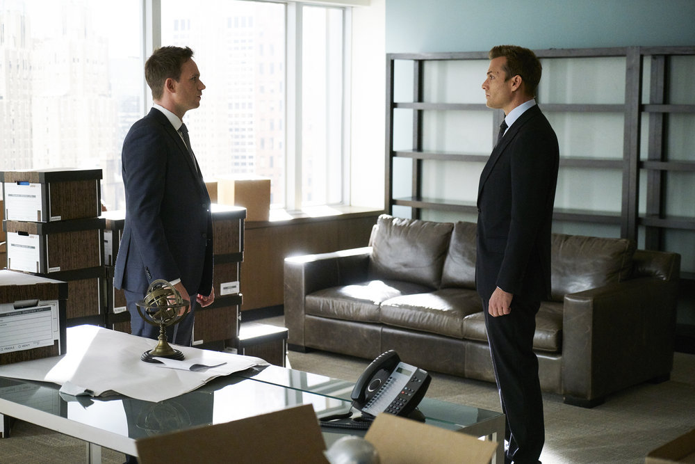 Image result for suits season 7 episode 1 harvey